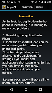 Apps Shortcut- screenshot thumbnail