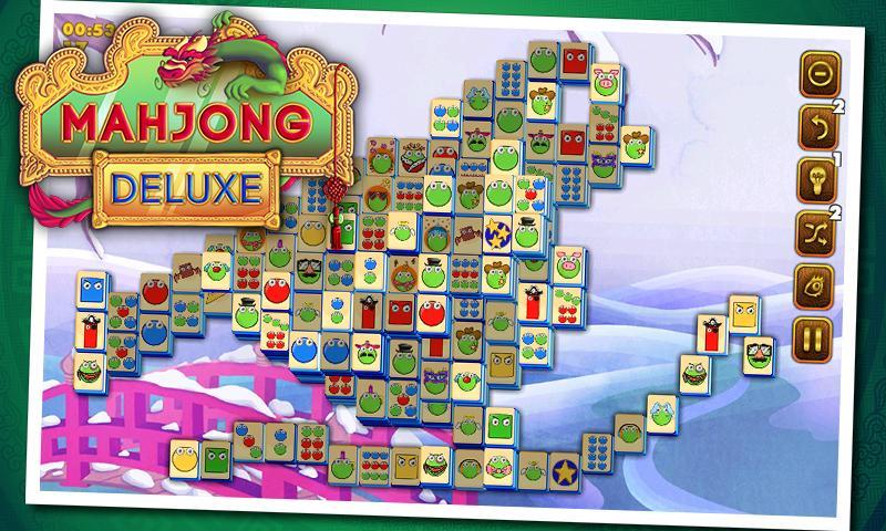 Скриншот Маджонг Делюкс