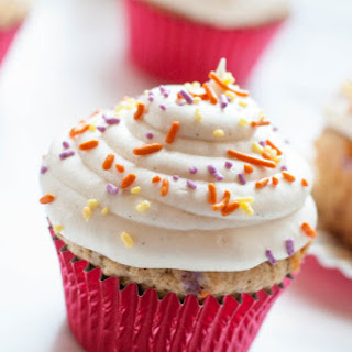 Whole Wheat Funfetti Cupcakes.