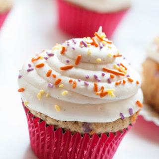 Whole Wheat Funfetti Cupcakes.