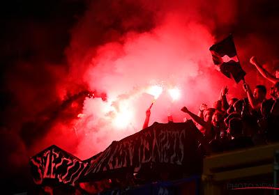 Club Brugge en Charleroi-fans geven minister Verlinden lik op stuk met pyrotechnisch materiaal