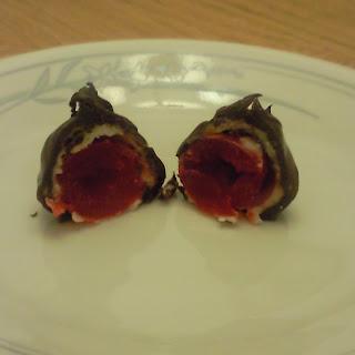 Homemade Cherry Cordials