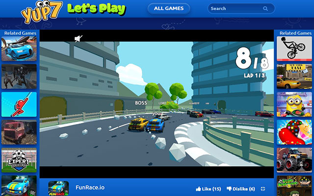 FunRace.io Play Game