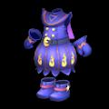 青い魔女っ子ドレス