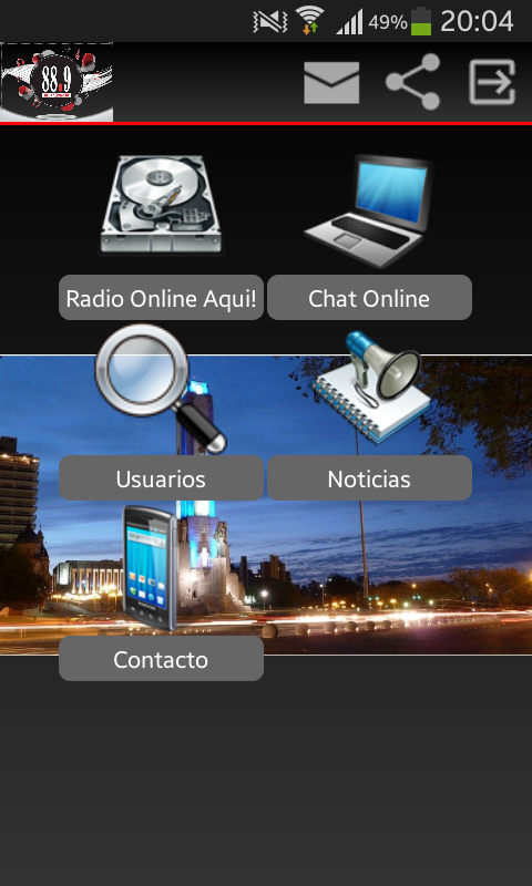 Radio G. R.- screenshot