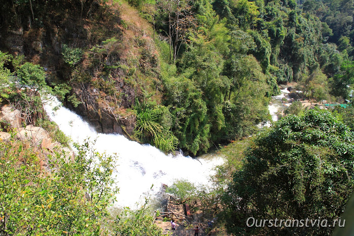 Достопримечательности Далата - водопад Датанла