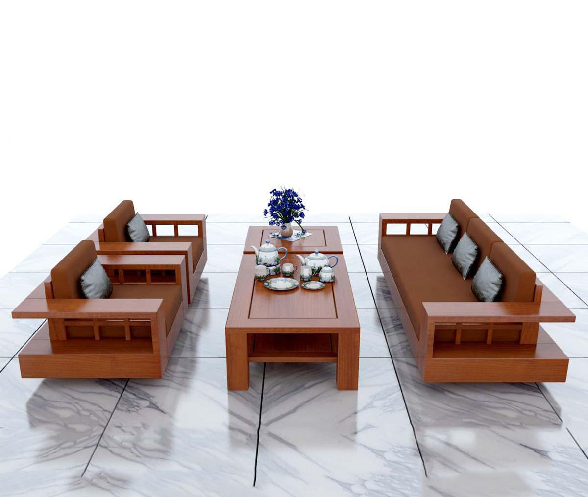 Xu hướng chọn bàn ghế gỗ năm 2019