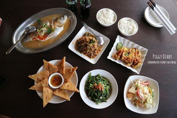 二分之一泰式小館。平價美味家庭式泰式料理