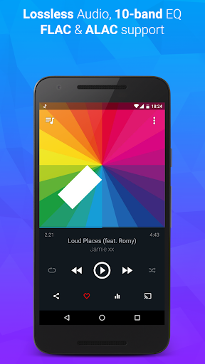doubleTwist Music & Podcast Player with Sync 3.3.5 screenshots 2