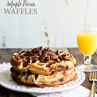 Maple Pecan Waffles