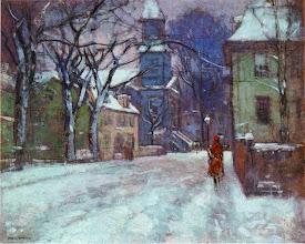 """Photo: Paul Cornoyer, """"Dicembre"""" (1916)"""