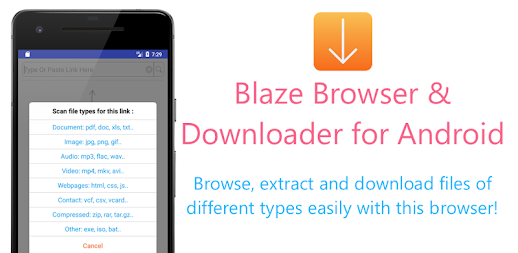 Blaze : Extract Files From Links To Download APK