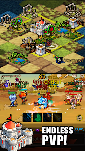 Mod Game Infinity Heroes VIP : Idle RPG for Android