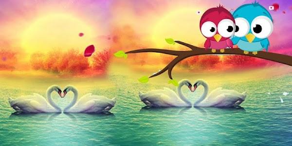 Love Swan Colorful Lake screenshot 3