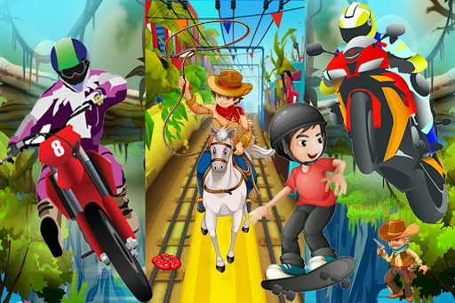 Subway Castle Jungle Rush FREE screenshot 4