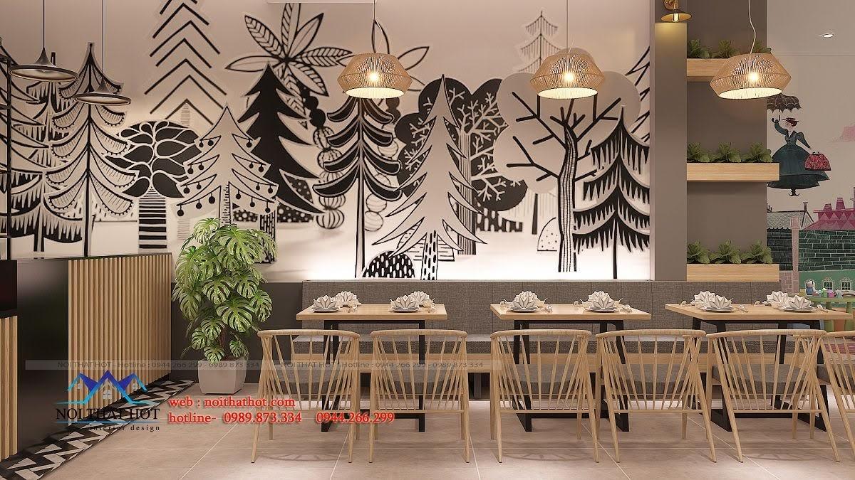 thiết kế nhà hàng trường giang 11