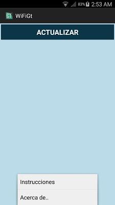 WiFiGt - screenshot