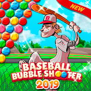 Baseball Bubble Shooter