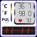 Blood Pressure : BP Health History Records Tracker icon