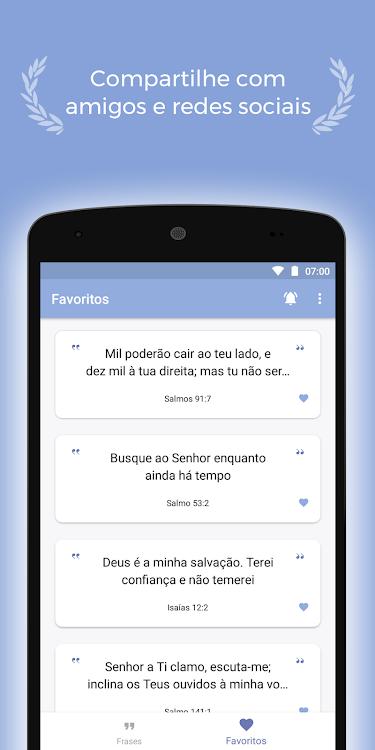 Inspirações Salmo Do Dia E Versículos Da Bíblia Android