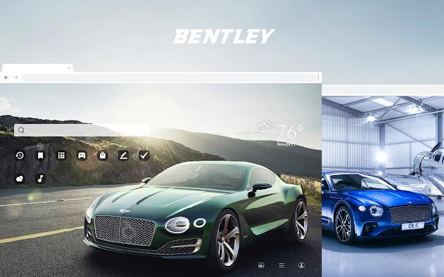 Bentley HD Car Wallpapers New Tab Theme