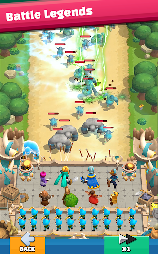 Wild Castle: 3D Offline Strategy Defender TD  screenshots 7