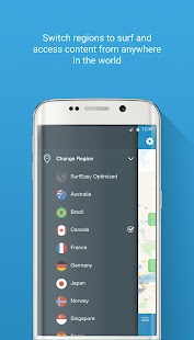 SurfEasy Secure Android VPN- screenshot thumbnail