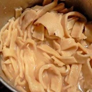 Homemade Noodles.