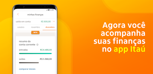 You now make direct personal loan through the Itaú app! Download now and enjoy!