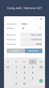 GST Calculator Pro - Tool Screenshot