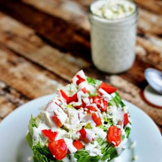 Simple Wedge Salad