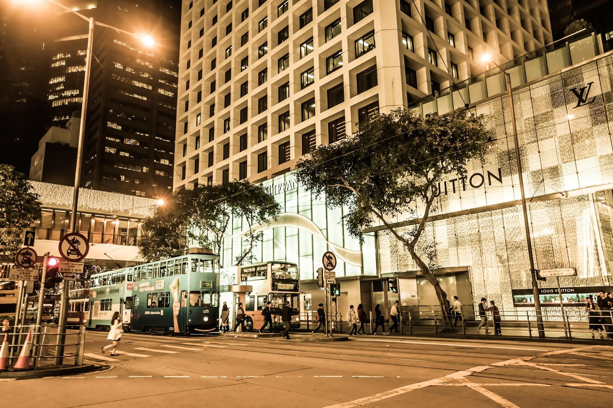 Hong Kong Central Night view1