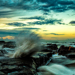 Karang Hawu  by Andreas Hie - Landscapes Waterscapes