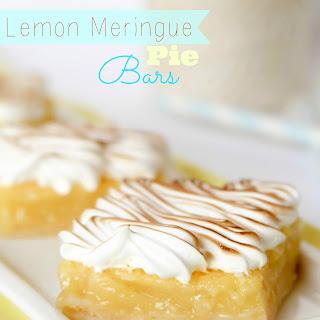 Lemon Meringue Pie Bars