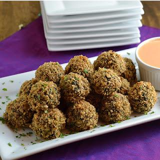 Spinach-Feta Risotto Balls
