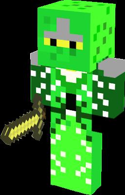 this is the green ninja from ninjago hope you like it