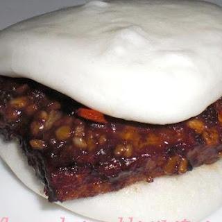 Home-Made Saucy Oriental Burger