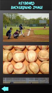 Baseballové klávesnice - náhled
