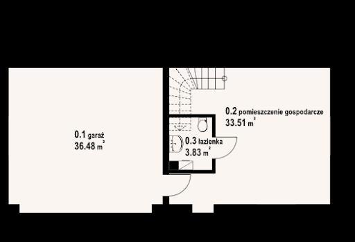 Garaż G2 (08) - Rzut parteru