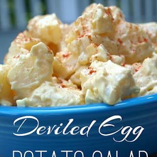 Deviled Egg Potato Salad.