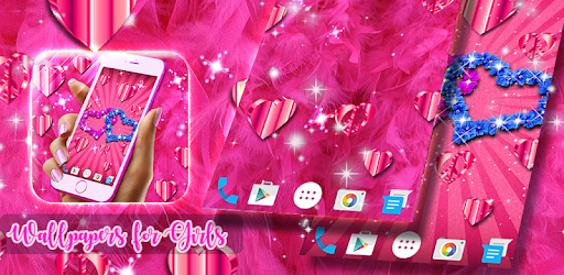 HD Girly Live Wallpaper ️ Pink 4K Wallpapers - Apps on ...