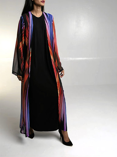 Kaleidoscopic Robe from Haya Collective.