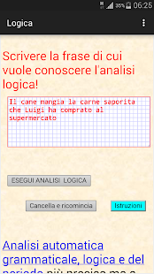 Analisi logica italiana- screenshot thumbnail