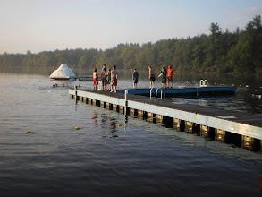 Photo: Early morning swim