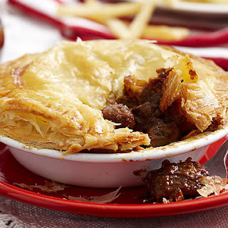 Beef, Mushroom and Guinness Pot Pies.