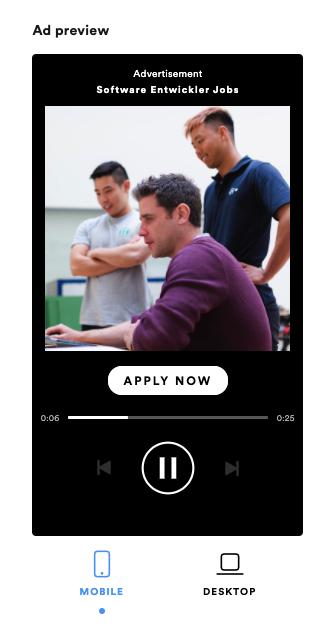 spotify recruiting anzeige