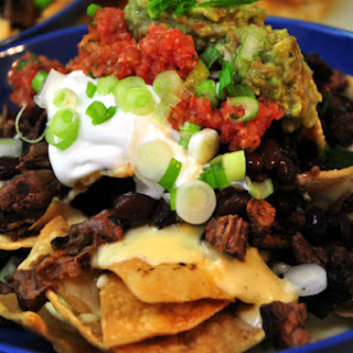Grilled Steak Nachos.