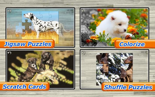 Dog Puzzles - Play Family Games with kids- screenshot thumbnail