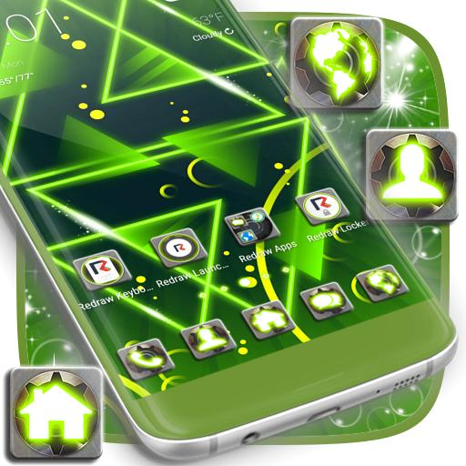 Neon Green Launcher