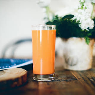 Carrot Coconut Smoothie.